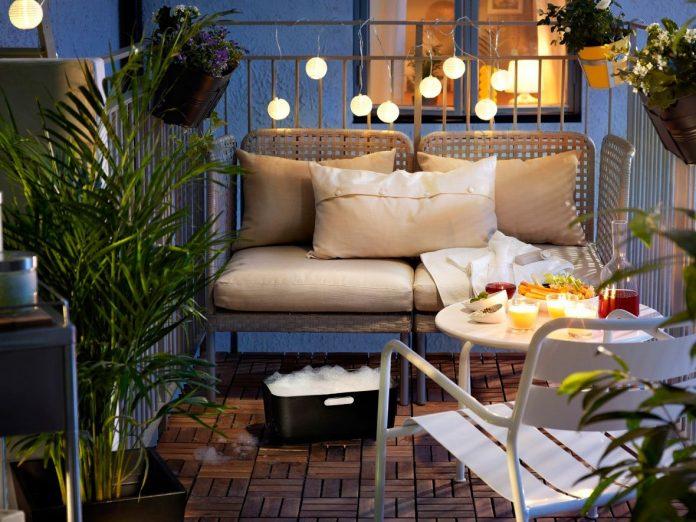 party na balkone